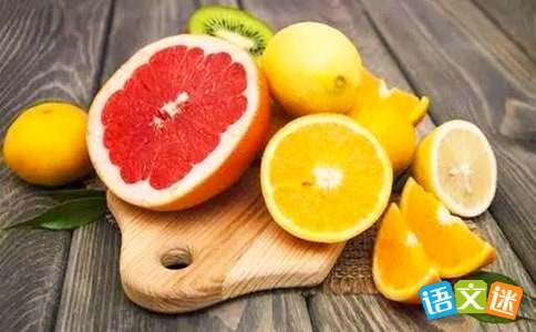 水果的经典标语