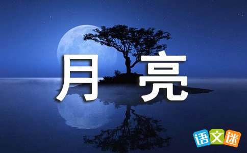 描写月亮的优美句子68句