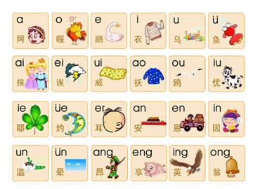 拼音字母表-汉语拼音字母表图片
